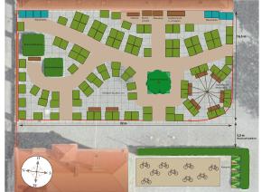 Ermekeilkaserne_Garten-Bauplan